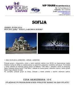 sofija - VIP Tours