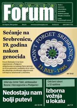 Nedostaju nam bolji putevi - forum bošnjaka/muslimana crne gore