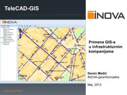 Praktična primena GIS-a u infrastrukturnim organizacijama