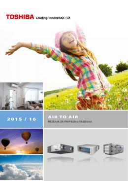 Air-to-Air rešenja za pripremu vazduha 2015/16