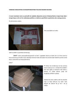 tutorijala za farbanje medijapana dvokomponentnim poliuretanskim