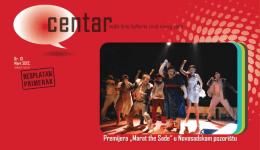 muzički program kulturnog centra novog sada