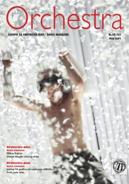 Orchestra 59 / 62 april 2014. poslednje izdanje
