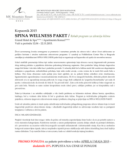2015 spina wellness paket
