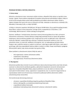 Program reformi u sektoru zdravstva.pdf