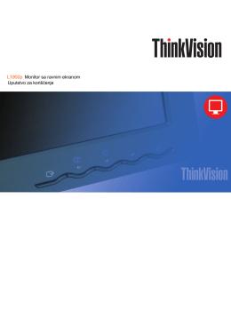 L1900p Monitor sa ravnim ekranom Uputstvo za korišćenje