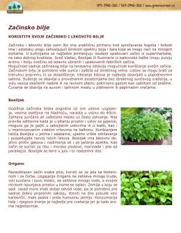 Ukrasno, začinsko i lekovito bilje