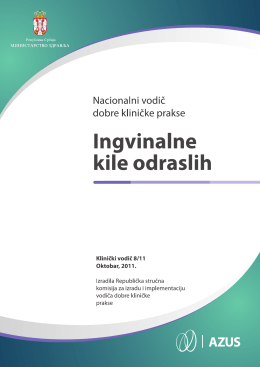 preporuke za lečenje ingvinalnih kila kod odraslih