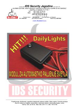 zanatska radnja IDS Security Jagodina Darko Vojinović PR
