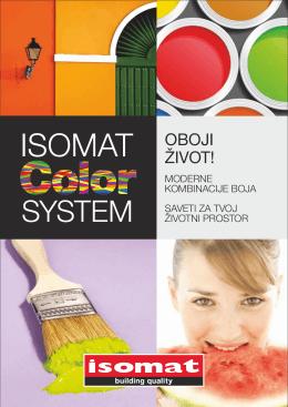 OVDE - isomat color system