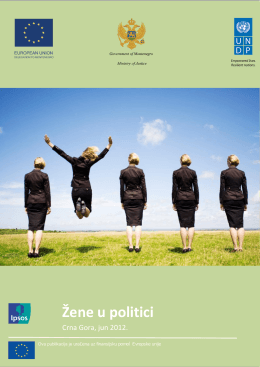 Žene u politici - UNDP in Montenegro