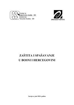 Zaštita i spašavanje u BiH