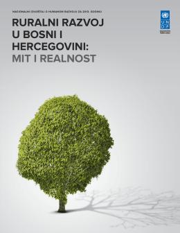 nacionalni izvjeŠtaj o HuManoM Razvoju za 2013. goDinu