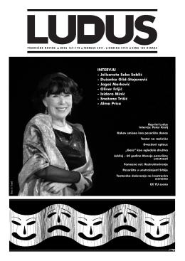 ludus169 170 - Udruženje dramskih umetnika Srbije