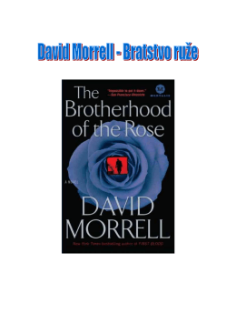 David Morrell - Bratstvo ruže