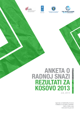 anketa o radnoj snazi rezultati za kosovo 2013