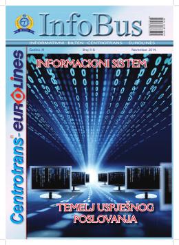 temelj uspješnog poslovanja informacioni sistem