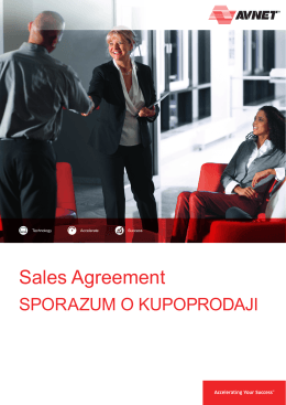 Sales Agreement - English-Serbia