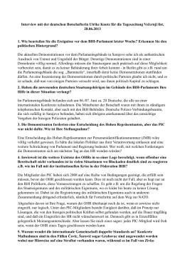 Intervju Ambasadora SR Njemačke u BiH, gospođe Ulrike Maria