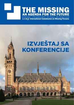 izvještaj sa konferencije - International Commission on Missing