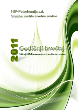 Godišnji izveštaj zaštite životne sredine, 2011.
