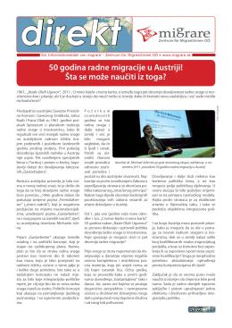 50 godina radne migracije u Austriji! Šta se može naučiti iz toga?