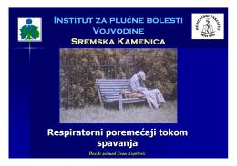 Institut za plu Institut za plućne bolesti ne bolesti Vojvodine Sremska