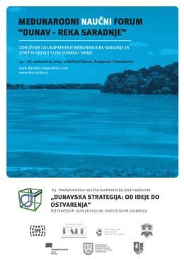 dunav - reka saradnje - Regionalna razvojna agencija Bačka