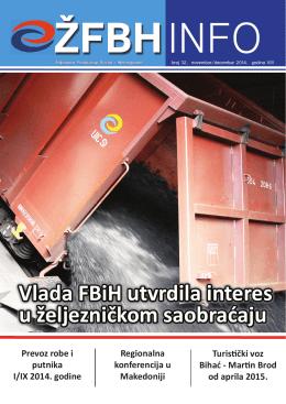 info 32...pdf - Željeznice Federacije Bosne i Hercegovine!!!!!!!!