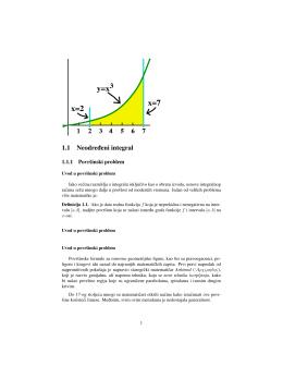 1.1 Neodre ¯deni integral