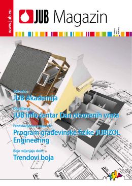 JUB Akademija JUB info centar Dan otvorenih vrata Program