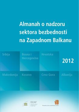 Almanah o nadzoru sektora bezbednosti 2012 na