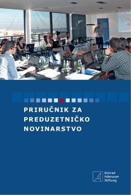 Priručnik za preduzetničko novinarstvo - Konrad-Adenauer