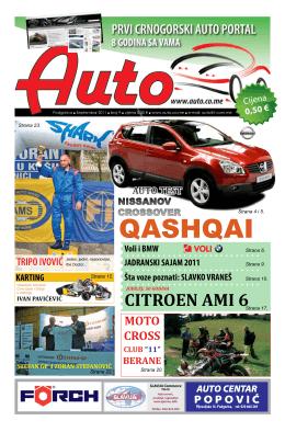Auto časopis: septembar 2011
