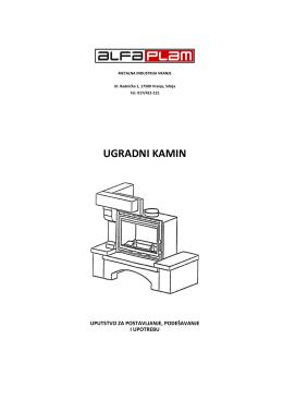 Uputstvo za upotrebu-Kamini-Ugradni kamin FKU