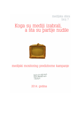 Preuzmi - Novosadska novinarska škola