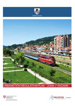"""urbanistički regulativni plan """" zona -i"""" kačanik"""
