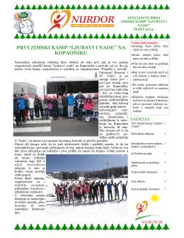 ZimSKI kamp - Kopaonik