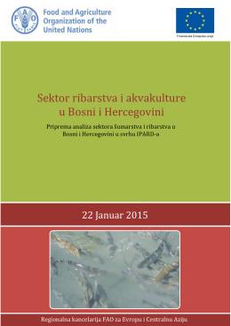 Sektor ribarstva i akvakulture u Bosni i Hercegovini
