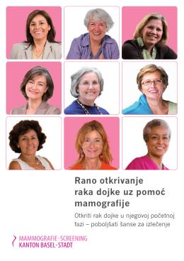 Rano otkrivanje raka dojke uz pomoć mamografije