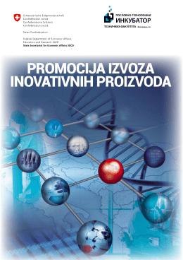 publikaciju Promocija izvoza inovativnih proizvoda