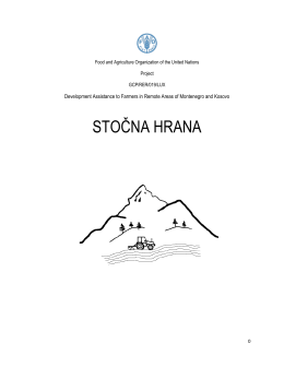stočna hrana - Development Assistance to Farmers In Remote Areas