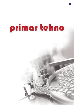 catalog (pdf) - Primar Tehno doo