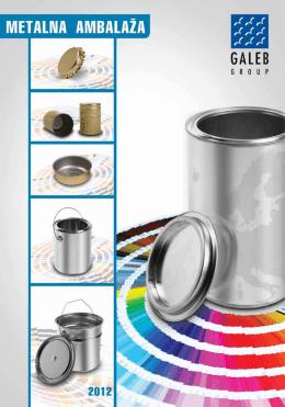 limenke i kantice za hemiju - Galeb Metal Pack