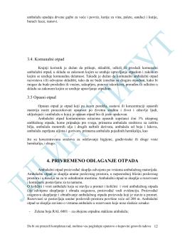 UO 7.1.014. Plan upravljanja ambalažom i ambalažnim otpadom