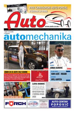 Auto časopis: januar 2012