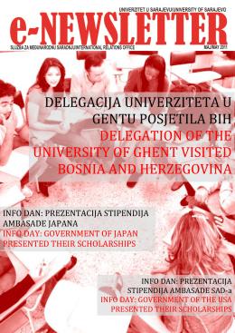 delegacija univerziteta u gentu posjetila bih - JoinEU-SEE