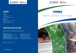 Firma brošura - verzija za web