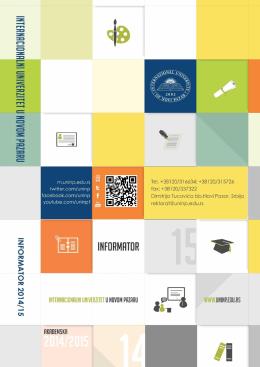 Osnovne studije - Univerzitet u Novom Pazaru