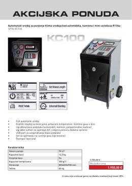 SPIN klima stanica KC100N KC100